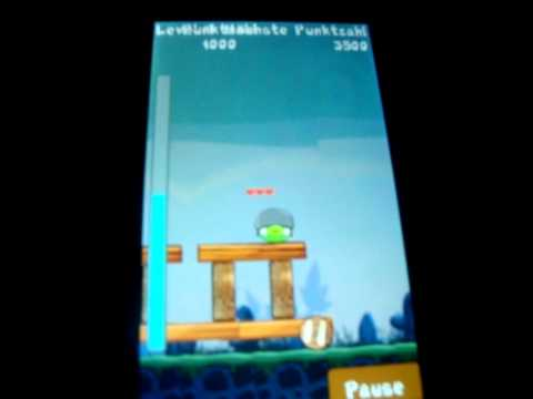 Angry Birds (Symbian) on Samsung S5230 Star