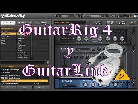 GUITAR RIG 4 Y GUITAR LINK UCG102 #ProyectoLGM 10