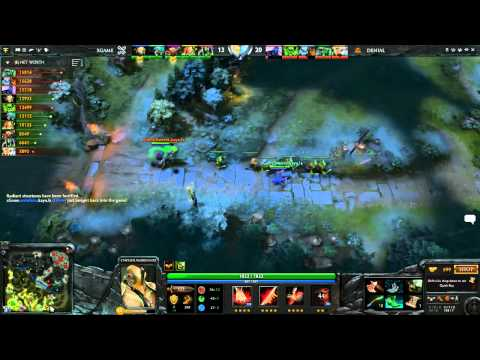 xGame vs Denial Game 1 Part 2 - ESL One New York EU Qual - @DotaCapitalist & @CWMDota