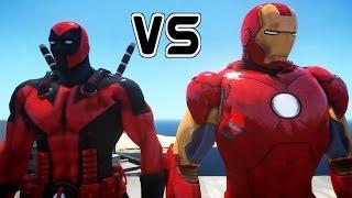 DEADPOOL VS IRON MAN - EPIC BAE