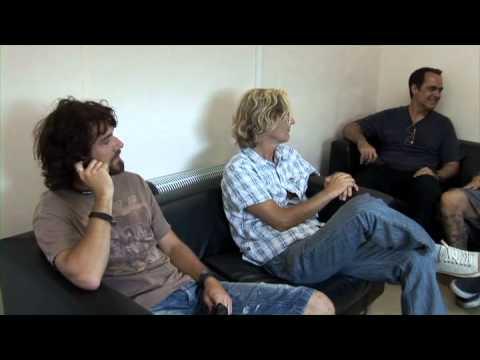 Transatlantic - BACKSTAGE INTERVIEW at HIGH VOLTAGE FESTIVAL 2010 Pt. 2/2