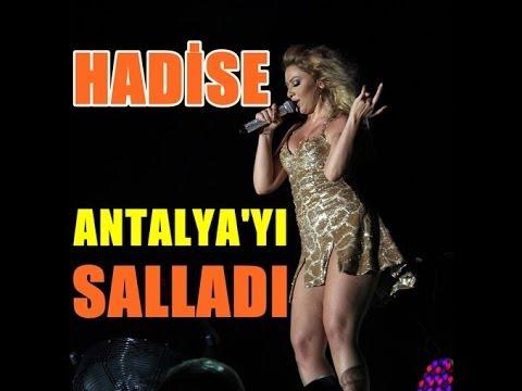 Hadise |Seksi Danslar| Antalya Konseri 2014