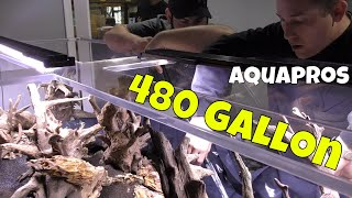 The Largest Shrimp Only Tank in the World - 10,000 Blue Bolts Soon