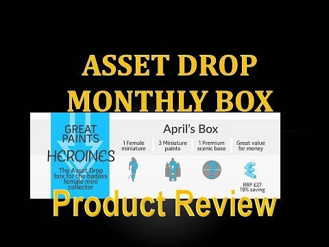 Product Review 28 - Asset Drop Monthly Box