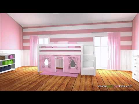 Maxtrix Provides Not Only Quality Bedroom Furniture For Your Kids, But An  Entire Bedroom System That Grows Up With Them. Explore Maxtrix Furniture  For Kids ...