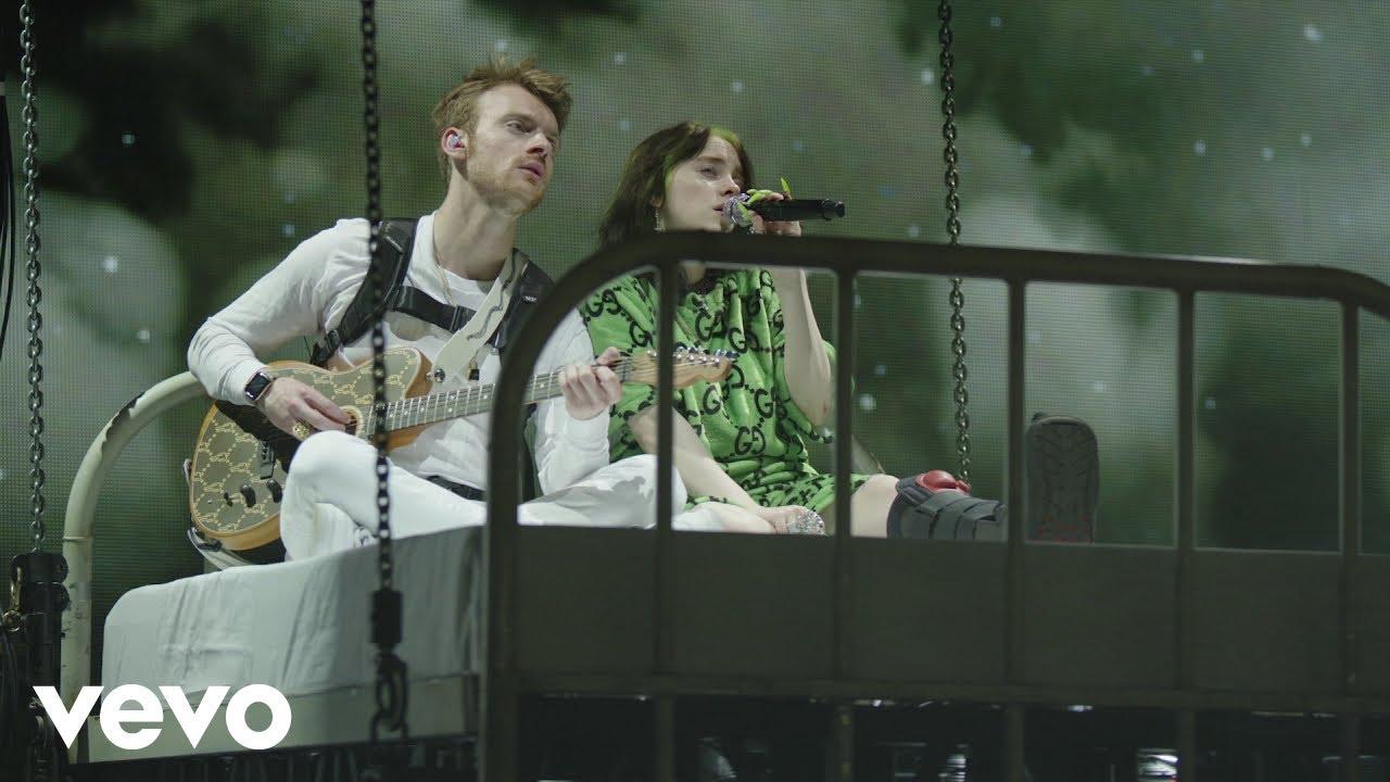 "Billie Eilish - 2019.07.11 Greek Theatre でのライブから""i love you""の映像を公開 thm Music info Clip"