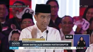 Good Election Jokowi : Banyak Caleg Gerindra Mantan Koruptor