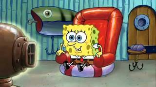 Spongebob Watching TV *Clip*
