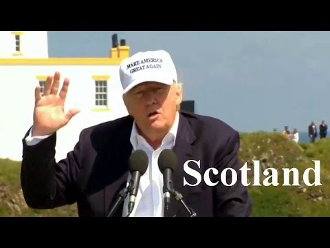 FULL Speech Donald Trump in Scotland (6-24-16). Calls 'Brexit' Result 'a Great Thing'