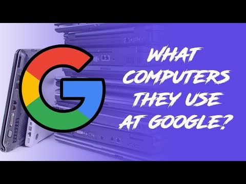 what computers they use at google offices?