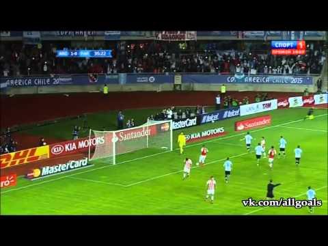 Кубок Америки! Аргентина 2:2 Парагвай!!