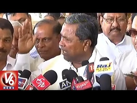 BJP Has Secret Pact With JD(S) In Karnataka, Alleges CM Siddaramaiah | V6 News