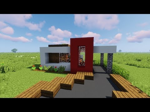 ✔ Small Modern House Tutorial