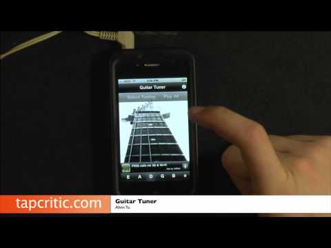 Guitar Tuner iPhone / iPod Touch Review
