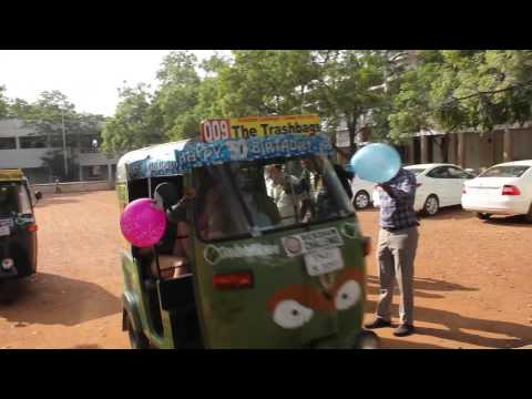 Ride along from Madurai to Tuticorin with the Rickshaw Challenge