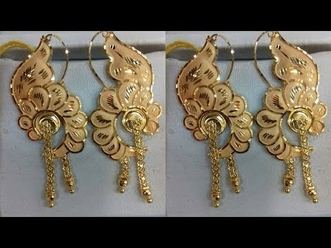 Pure Gold Earring Designs