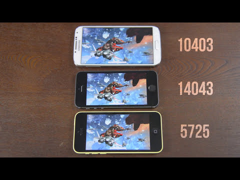 iPhone 5s vs Samsung Galaxy S4 vs iPhone 5c Speed Test!