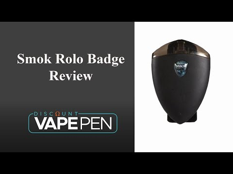 Smok Rolo Badge Pod System Review