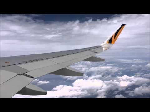 InFlight: Tigerair Takeoff from Narita to Taipei (NRT-TPE) on A320
