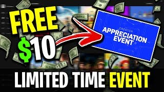 How To Get FREE $10 From Epic Games! (Limited Time Event)
