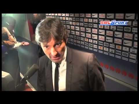 Ligue 1 / PSG - Leonardo passablement énervé contre M. Castro - 05/05