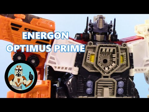 Transformers Energon Optimus Prime- From Fat to FREAKING MEGAZORD! | Jcc2224 Review