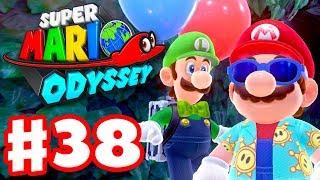 Super Mario Odyssey - Gameplay Walkthrough Part 38 - Luigi's Balloon World DLC! (Nintendo Switch)