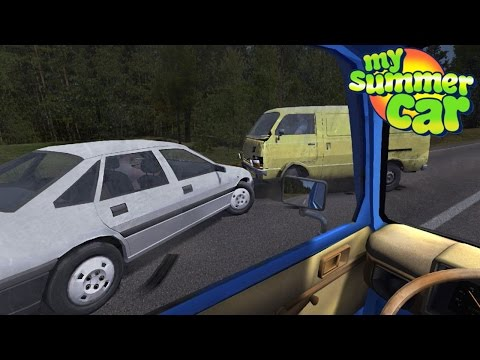 My Summer Car - HIGHWAY CAR CRASH