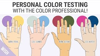 Finding Your Skin Undertones | Easy Personal Color Test with the Color Professional!