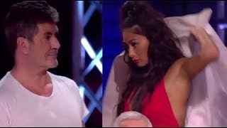 Nicole Sherzy STORMS OFF Stage After Simon Cowell Night of DRAMA! | The X Factor UK 2017