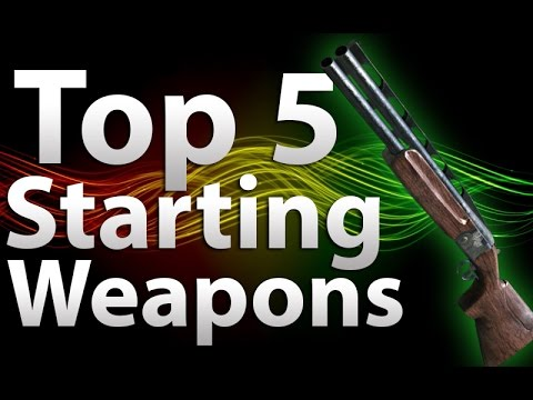 'TOP 5' Starting Weapons in 'Call of Duty Zombies' -