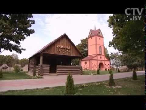 В 30 километрах от Минска в местечке Дукора появился перевёрнутый дом