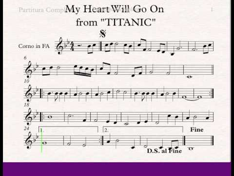 My Heart Will Go On - French Horn