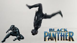 Black Panther Parkour In Real Life (Stunts, Tricking, Freerunning)