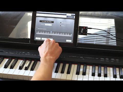 Music Studio and iRig MIDI