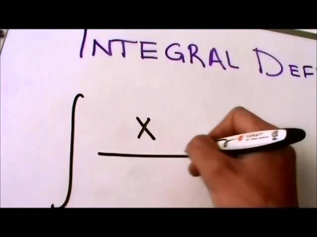 Cálculo Integral - Tutorial de Integral Definida