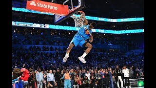 Hamidou Diallo Pays Homage To Vince Carter To Win 2019 AT&T Slam Dunk Contest | All-Star Weekend