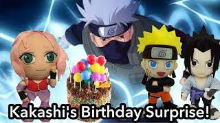 Anime Plush Shorts: Kakashi's Birthday Surprise!