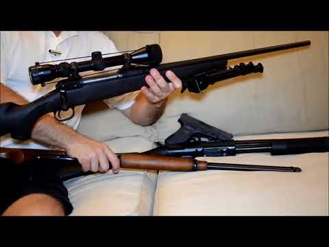3 ou 4 Tipos de Armas que Todos Deveriam Ter