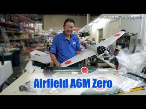 Unboxing: Airfield A6M Zero 1450mm