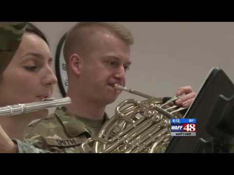 Unique, musical career in the Army