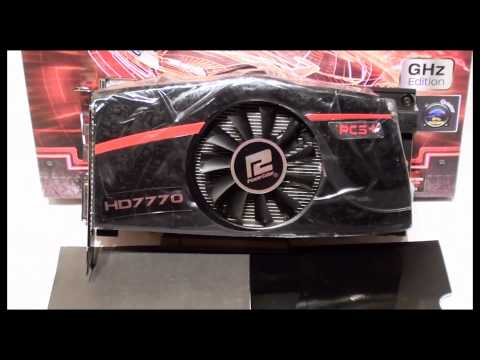 PowerColor PCS+ HD7770 GHz Edition 1GB GDDR5 video card