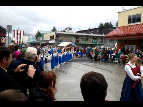 Mayfest Parade Petersburg Alaska