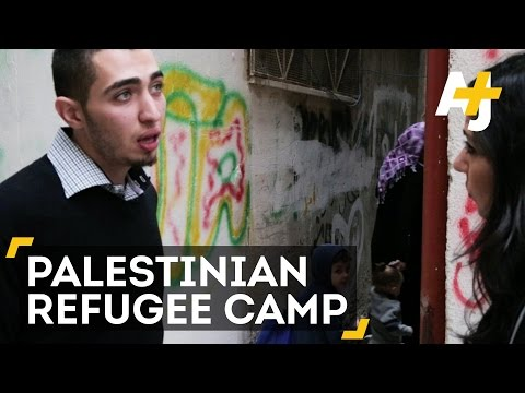 Life In A Palestinian Refugee Camp