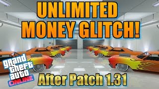 """GTA 5 Online: """"NEW"""" UNLIMITED MONEY GLITCH! [1.31] """"DUPLICATE CARS"""" (PS4 & Xbox One)"""
