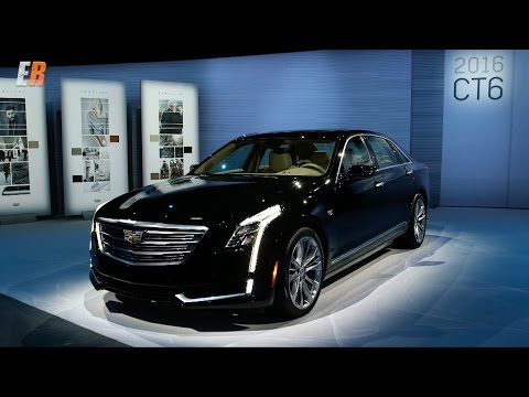 2016 Cadillac CT6 Test Drive Review - It's not my grandpa's Caddy