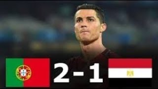 Portugal vs Egypt 2-1 - All Goals & Highlights - Friendly 23/03/2018