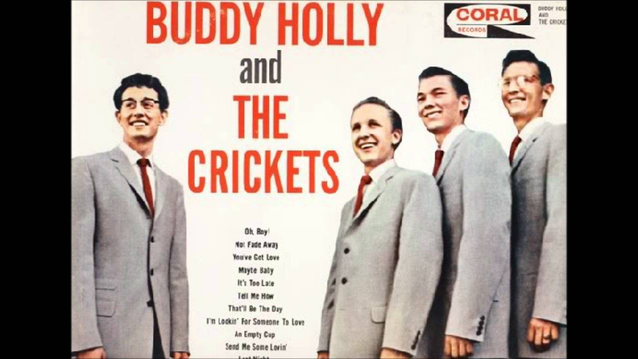 The Crickets - That'll Be The Day / Peggy Sue