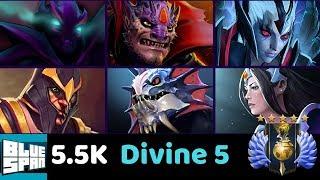 DIVINE 5 SPEC LIO VS SIL LIO SLAR MIR