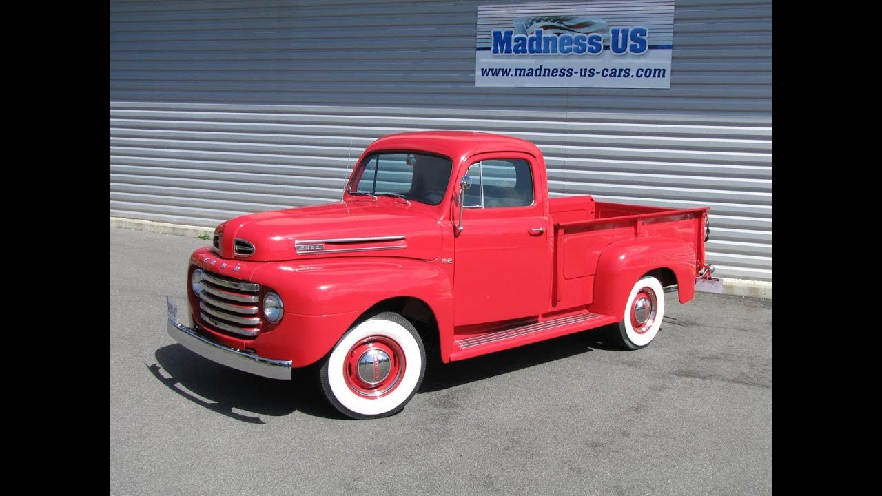 Ford F2 1950 Youtube